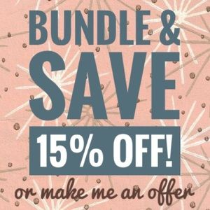 Other - Make a bundle of 2 or more items and save 15%